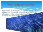 what is digital communication http devcreation website