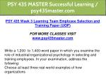 psy 435 master successful learning psy435master 13