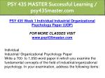 psy 435 master successful learning psy435master 5