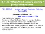 psy 435 homework successful learning 17