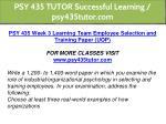 psy 435 tutor successful learning psy435tutor com 13