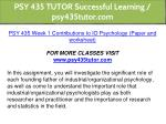 psy 435 tutor successful learning psy435tutor com 2