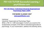 psy 435 tutor successful learning psy435tutor com 5