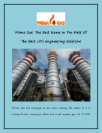 prima gas the best name in the field of
