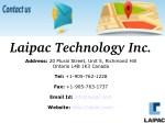 laipac technology inc
