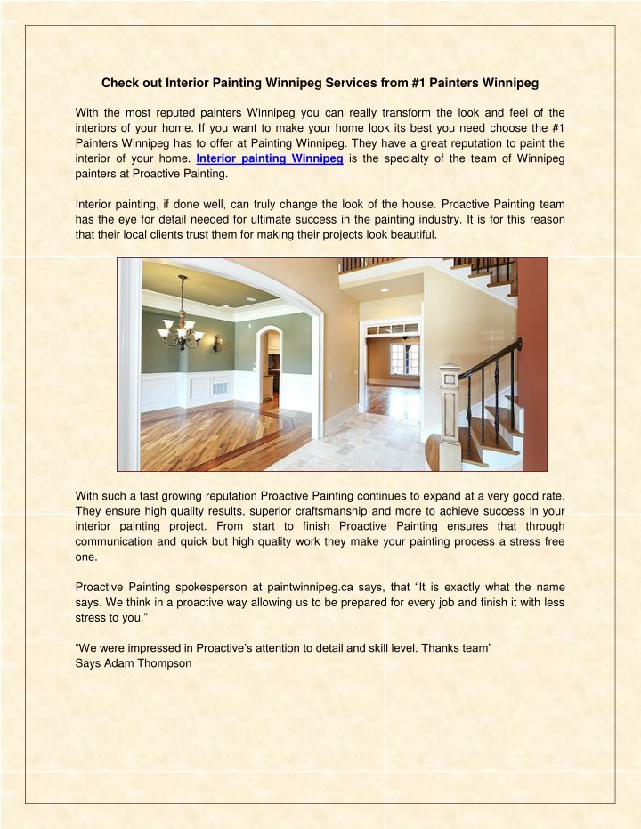 check out interior painting winnipeg services n.