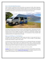 how to find the right motorhome there are plenty