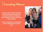 traveling pillows