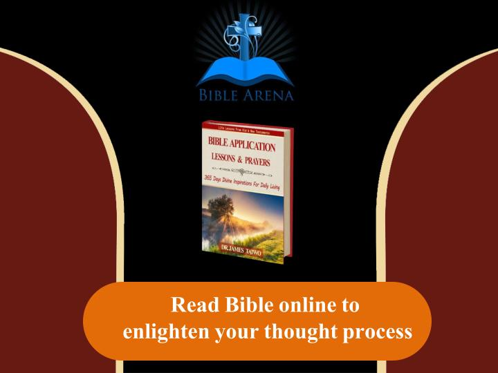 read bible online to enlighten your thought n.