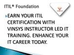 itil foundation 5