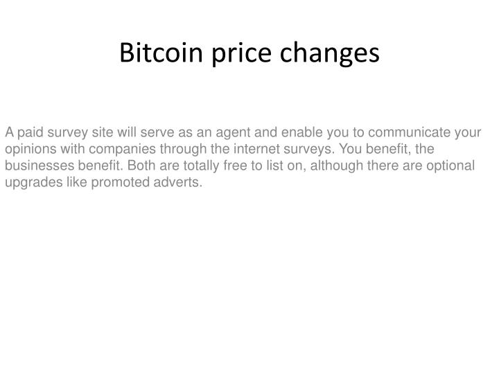 bitcoin price changes n.