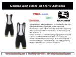 giordana sport cycling bib shorts champions