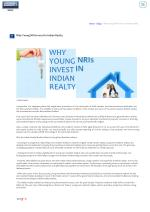 home blogs why young nris invest in indian realty