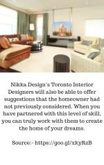 nikka design s toronto interior designers will