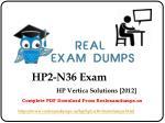 hp2 n36 exam 1