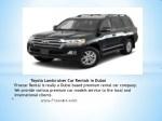 proxcar rental is really a dubai based premium