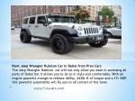 rent jeep wrangler rubicon car in dubai from prox