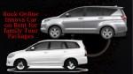 book online innova car on rent for family tour