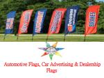 automotive flags car advertising dealership flags