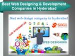 best web designing development companies in hyderabad