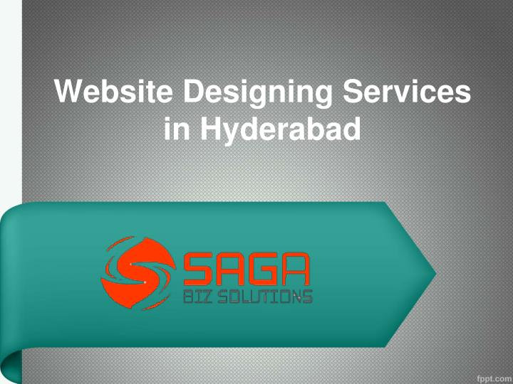 website designing services in hyderabad n.