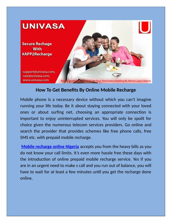 how to get benefits by online mobile recharge n.