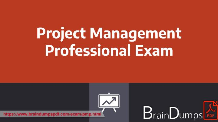 project management professional exam n.