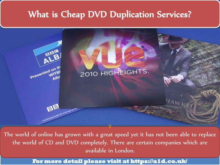 what is cheap dvd duplication services n.