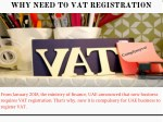 why need to vat registration