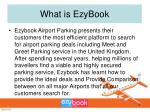 what is ezybook