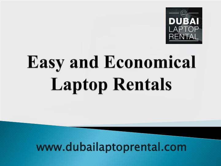 easy and economical laptop rentals n.