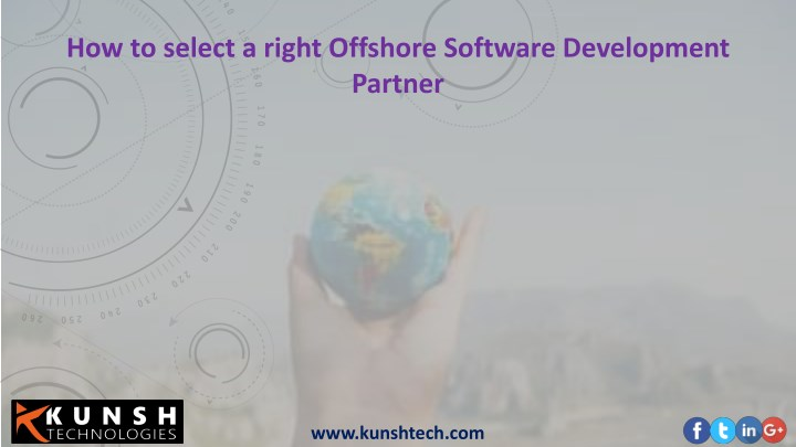 how to select a right offshore software n.
