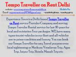 tempo traveller on rent delhi website 1