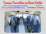 tempo traveller on rent delhi website 12