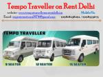 tempo traveller on rent delhi website 14