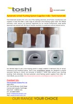 automatic urinal flushing system suppliers india