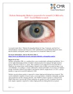 diabetic retinopathy market is projected