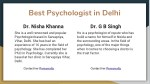 best psychologist in delhi