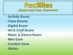 facilities modern early years charmwood