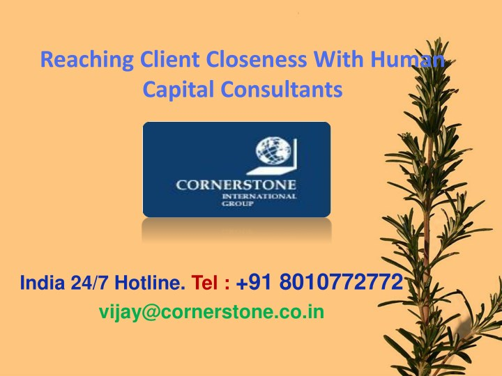 reaching client closeness with human capital n.