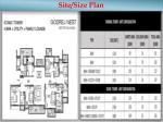 site size plan