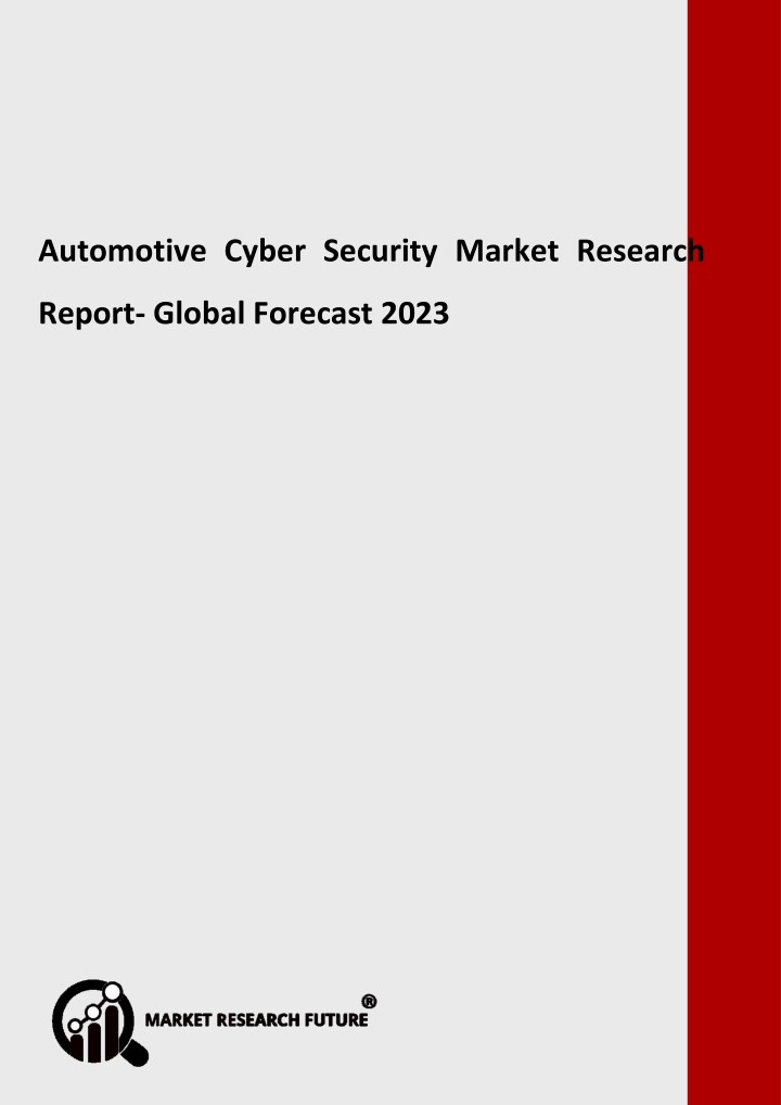 automotive cyber security market research report n.