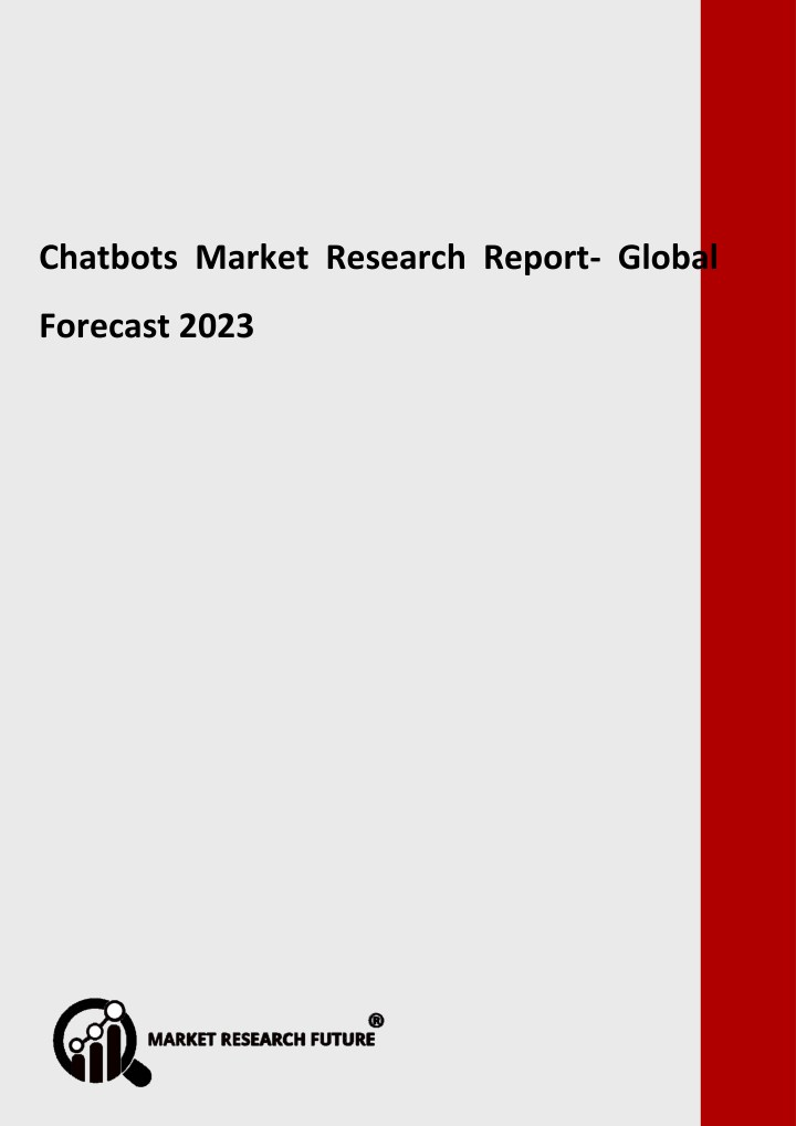 chatbots market research report global forecast n.
