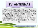 tv antennas 1