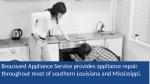 broussard appliance service provides appliance
