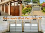 door repair west vancouver bc