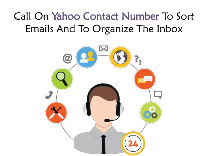 call on yahoo contact number to sort emails n.
