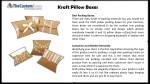 kraft pillow boxes 1