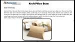 kraft pillow boxes 2