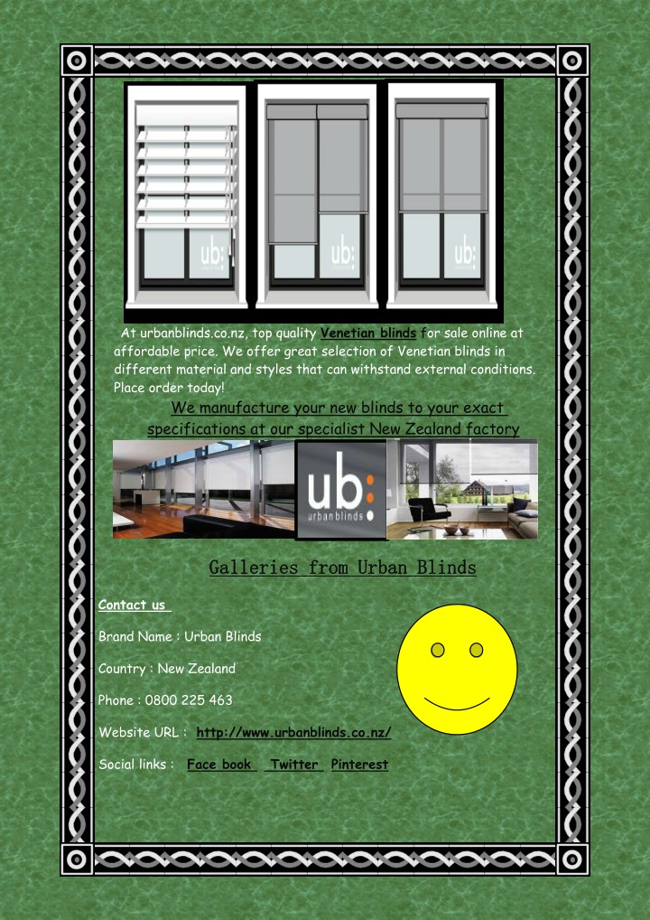 at urbanblinds co nz top quality venetian blinds n.